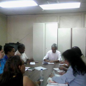 En el marco del Programa Manos a la Siembras se realizo reunión  INCES Miranda y Alcaldía de Sucre