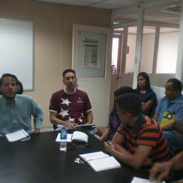 Inces Miranda organiza plan operativo para el año 2019