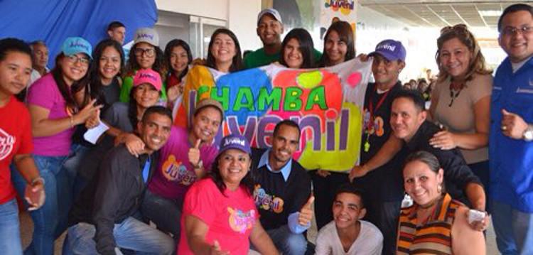 Juventud emprendedora está comprometida con el presidente Nicolás Maduro