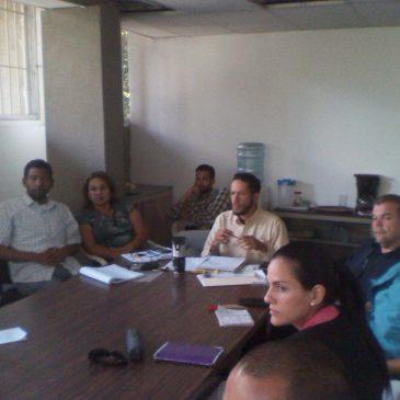 Gerencia Regional de Miranda realizó primera reunión con institutos adscritos al Inces